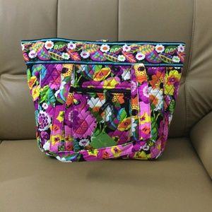 Vera Bradley Large Laptop Tote Va Va Bloom